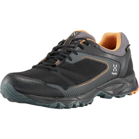 Haglöfs Trail Fuse GT Schoenen Heren, true black/desert yellow